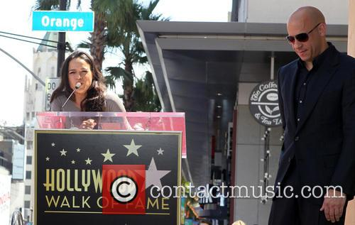 Michelle Rodriguez, Vin Diesel