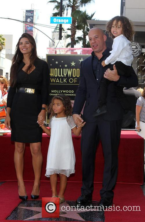 Paloma Jiménez, Hania Riley, Vin Diesel and And Son 4