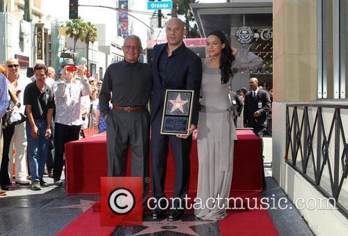 Vin Diesel, Ron Meyer, Michelle Rodriguez