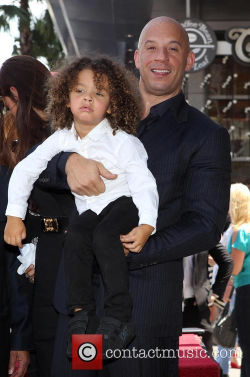 Vin Diesel and and son 1
