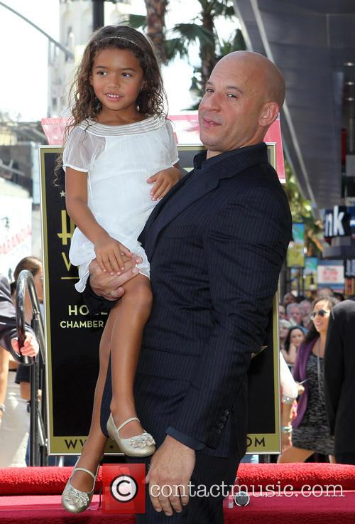 Vin Diesel and Hania Riley 4