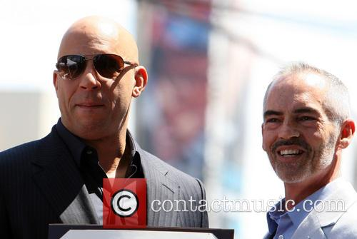 Vin Diesel and L.A. Councilman Mitch O'Farrell 2
