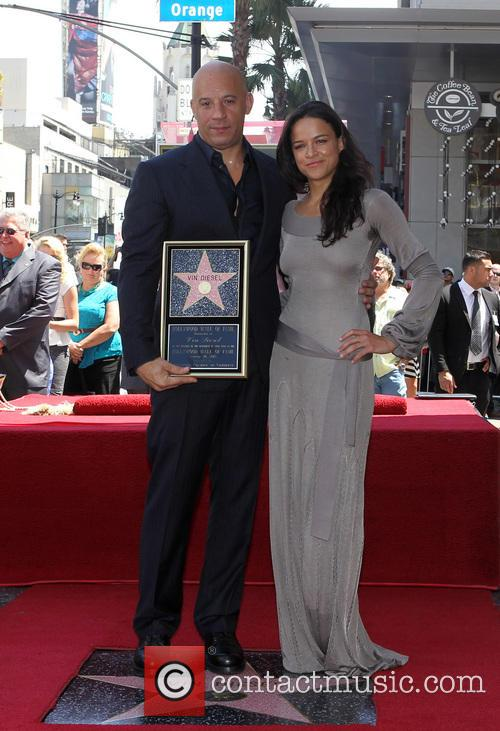 Vin Diesel And Michelle Rodriguez Break Up Vin diesel, michelle rodriguez · �