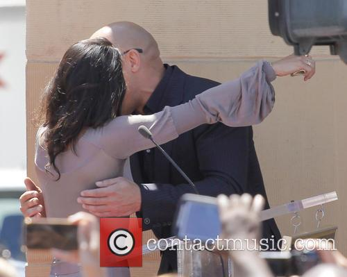 Vin Diesel and Michelle Rodriguez 5