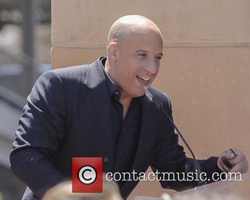 Vin Diesel, Hollywood Blvd AND Orange