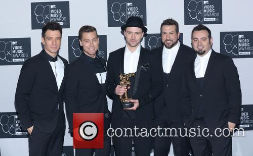 Jc Chasez, Lance Bass, Justin Timberlake, Joey Fatone and Chris Kirkpatrick Of N'sync 2