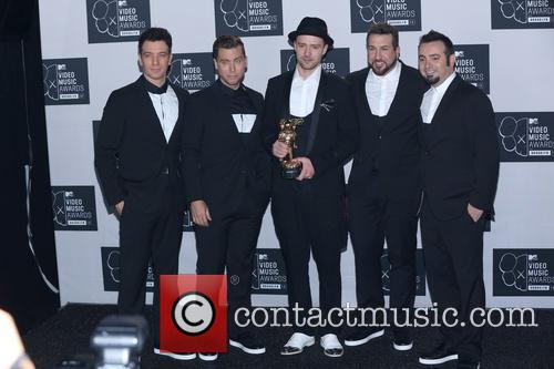 Jc Chasez, Lance Bass, Justin Timberlake, Joey Fatone and Chris Kirkpatrick Of N'sync 1