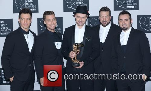 Jc Chasez, Lance Bass, Justin Timberlake, Joey Fatone and Chris Kirkpatrick Of N'sync 4