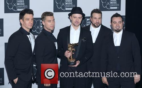 Jc Chasez, Lance Bass, Justin Timberlake, Joey Fatone and Chris Kirkpatrick Of N'sync 5
