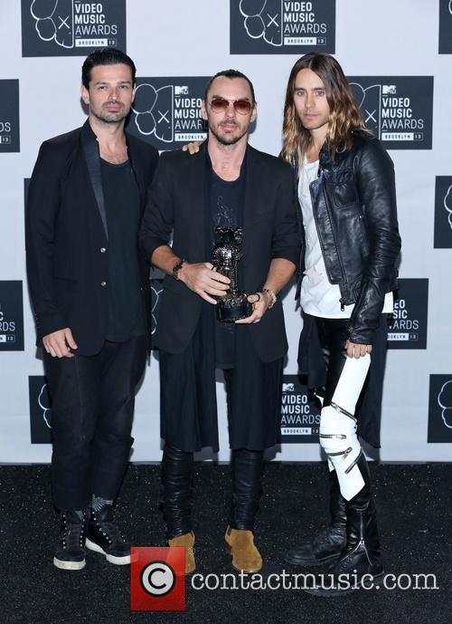 Jared Leto, Tomo Milicevic and Shannon Leto 2