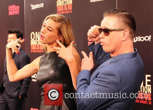 Hailey Rhode Baldwin and Stephen Baldwin 5