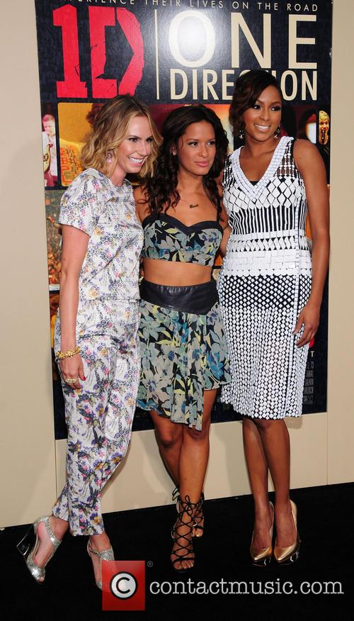Keltie Knight, Rocsi Diaz and Alicia Quarles 3