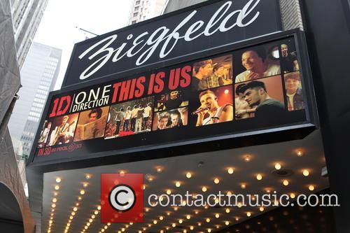 Atmosphere, Zayn Malik, Harry Styles, Louis Tomlinson, Liam Payne, Niall Horan, Ziegfeld Theatre 141 West 54th Street, Ziegfeld Theater