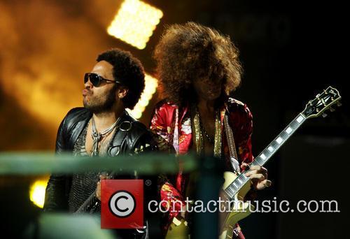 Lenny Kravitz and Craig Ross 5