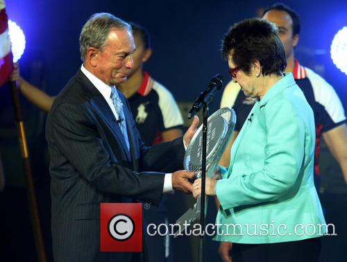 Michael Bloomberg and Billie Jean King 2