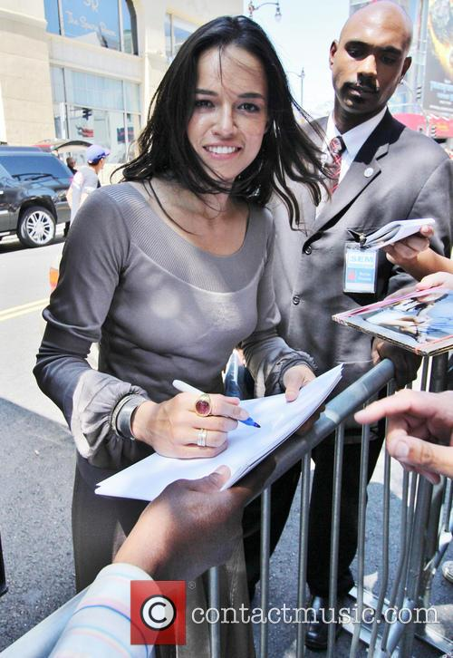 Michelle Rodriguez, Hollywood Blvd