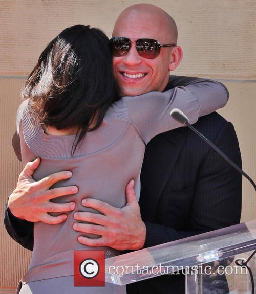 Vin Diesel honored with Hollywood star