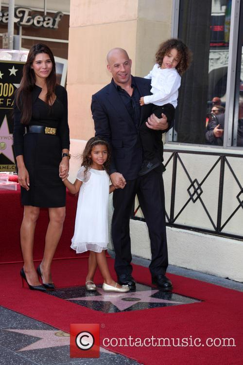 Фото детей вин дизеля и его жены