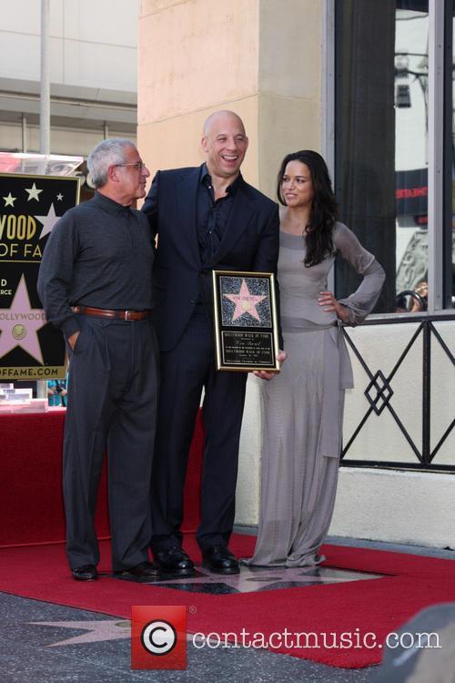 Vin Diesel Walk of Fame Ceremony