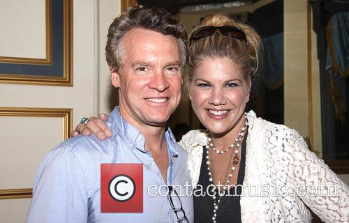 Tate Donovan and Kristen Johnston