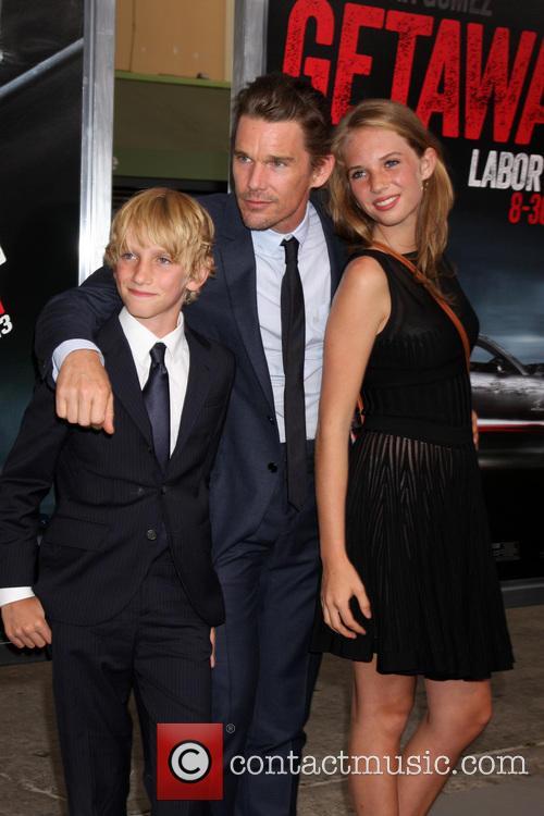 Ethan Hawke and children 1