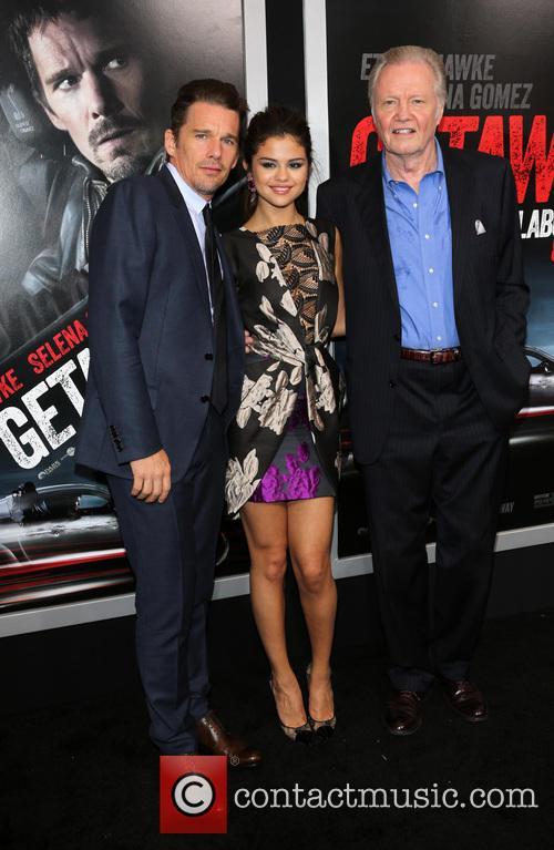 Ethan Hawke, Selena Gomez, Jon Voight, Regency Village Theatre