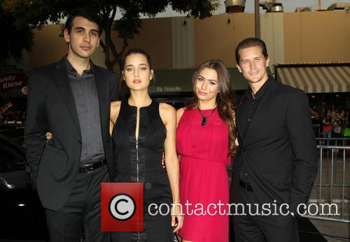 Nick Simmons, Cody Kennedy, Sophie Simmons and Nick 'mosh' Marshall 1