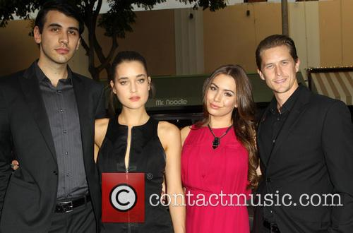 Nick Simmons, Cody Kennedy, Sophie Simmons and Nick 'mosh' Marshall 2