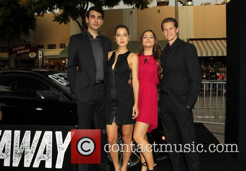 Nick Simmons, Cody Kennedy, Sophie Simmons and Nick 'mosh' Marshall 3