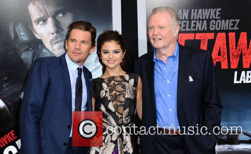 Ethan Hawke, Selena Gomez and Jon Voight