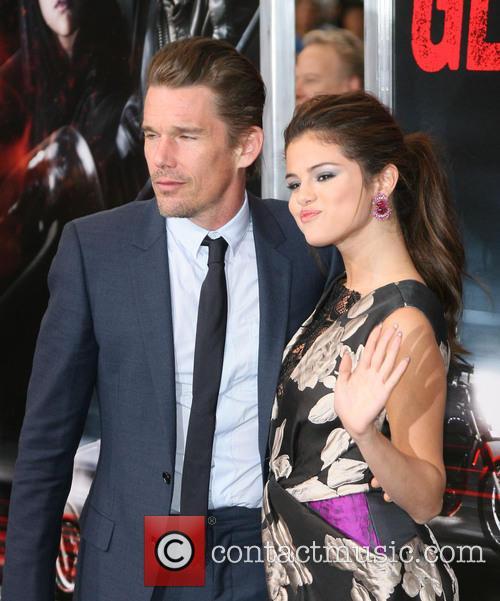 Ethan Hawke and Selena Gomez 3