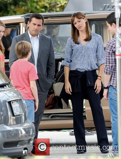 Jennifer Garner and Steve Carell 5