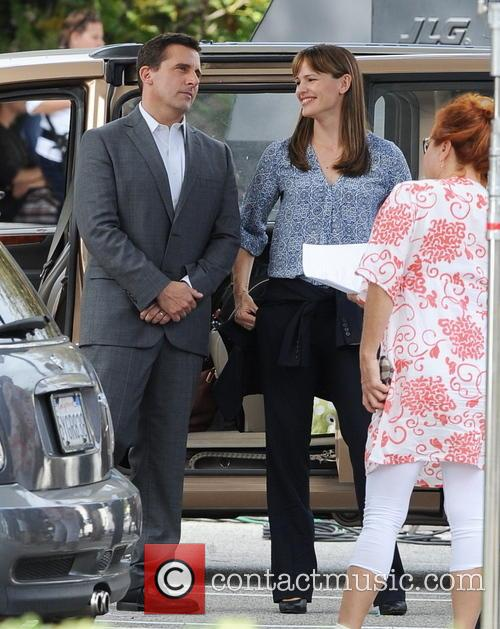 Jennifer Garner and Steve Carell 8