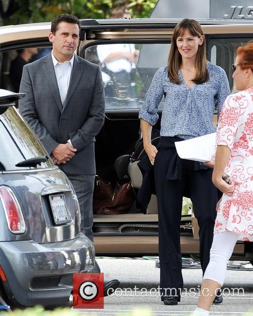Jennifer Garner and Steve Carell 5