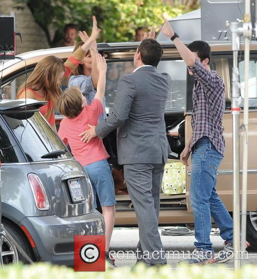 Jennifer Garner, Steve Carell, Kerri Dorsey, Dylan Minnette and Ed Oxenbould 3