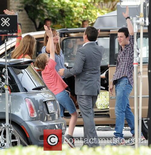 Jennifer Garner, Steve Carell, Kerri Dorsey, Dylan Minnette and Ed Oxenbould 6
