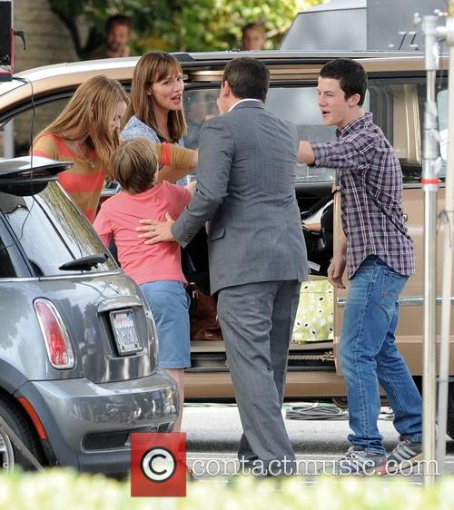Jennifer Garner, Steve Carell, Kerri Dorsey, Dylan Minnette and Ed Oxenbould 7