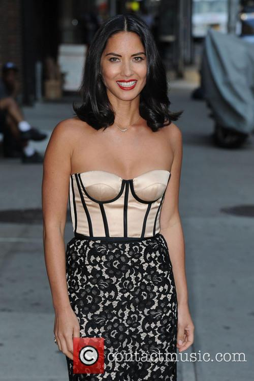 Olivia Munn, Ed Sullivan Theatre, The Late Show