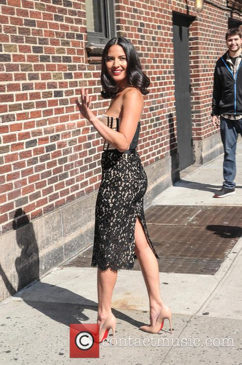 Olivia Munn, Ed Sullivan Theater, The Late Show