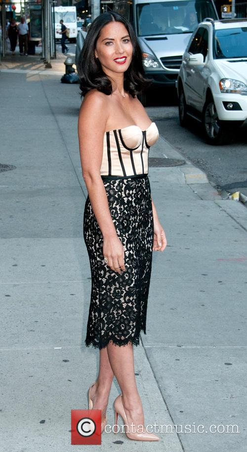 olivia munn late show with david letterman 3839334