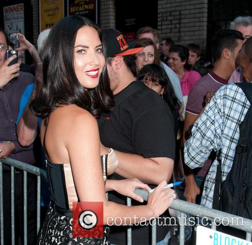 olivia munn late show with david letterman 3839337