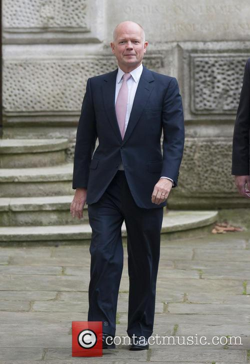 Foreign Secretary William Hague arrives at 10 Downing...