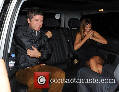 Noel Gallagher and Sara Macdonald 1