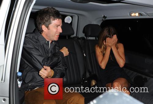 Noel Gallagher and Sara Macdonald 8