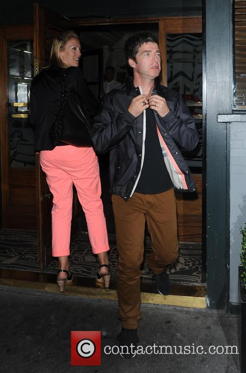 Noel Gallagher And Wife Sara MacDonald