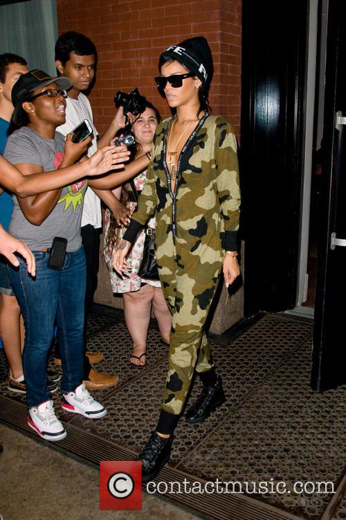 Rihanna In Soho