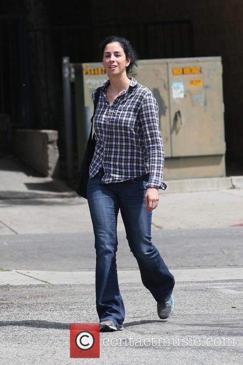 Sarah Silverman out walking in West Hollywood