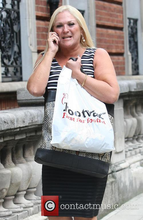 Vanessa Feltz Out And About