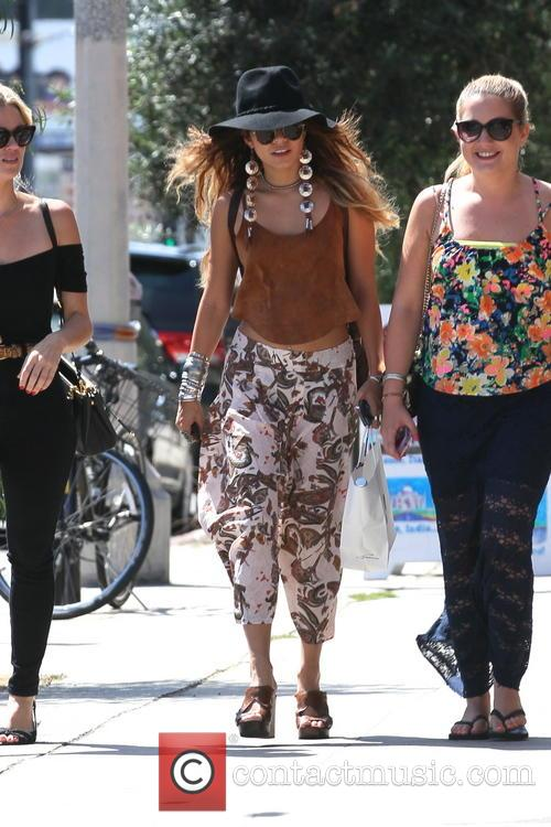 Vanessa Hudgens leaving Joans on Third
