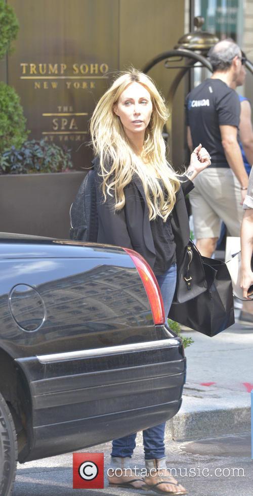 Tish Cyrus seen leaving Barneys